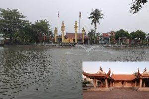Đình Cung Chúc tọa lạc bên sông Phú Nông (xưa) nay thuộc xã Trung Lậpbên cạnh dòng Phú Nông Giang xưa (sông Luộc ngày nay), xã Trung Lập, huyện Vĩnh Bảo,
