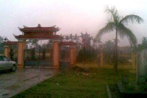 Chùa Đớt Sơn nay là nghĩa trang liệt sĩ