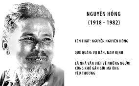 Ảnh nhà văn Nguyên Hồng
